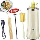 Kicpot Egg Master Roll Maker Multi-Function Breakfast Egg Roll Machine Home DIY Egg Cooker Fast and Durable(110-220V)(White)