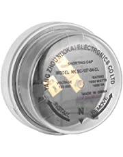 Shorting Cap-s, 1000W 1800VA 120-480V Aluminum Photocell Shorting Cap for Temporary Protection for Street Lamps Lights