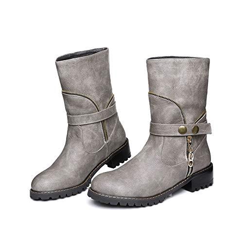 Mns03095 dames Wedge sandalen 1to9 grijs T4qdZW6