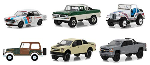 All Terrain Series 7, Set of 6 Cars 1/64 Diecast Models by Greenlight 35110