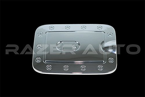 (Razer Auto Triple Chrome Plated Gas Door Cover for 2008-2012 Nissan Pathfinder)