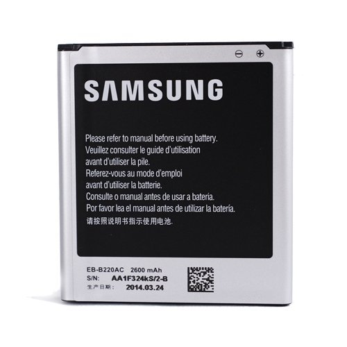 Battery for Samsung Galaxy Grand 2 II G7102 2600mAh EB-B220AC Replacement Part Mobile Phone Accessory (Samsung Galaxy Grand Ii Battery)