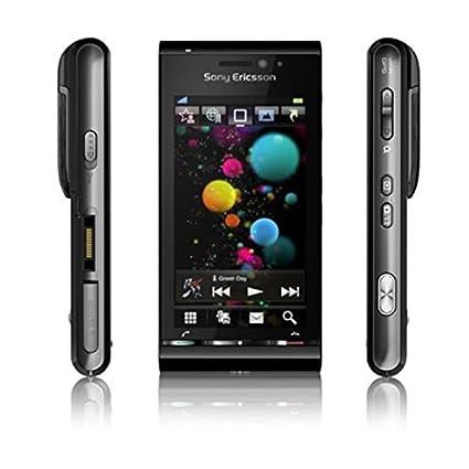 amazon com sony ericsson satio u1i black bordeaux smartphone gsm rh amazon com
