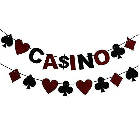 musykrafties Tela Casino y poker Guirnalda Pancarta Para ...