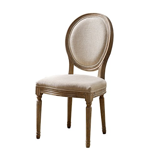Linon AMZN0345 Dining Chair, Natural