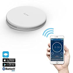 iLuv SmartShaker Award Winning App-Enabled Portable Travel Alarm Shaker with vibration, ring tone, and combination option - compatible with iPhone, iPad, and Samsung Phones (White)