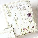 Meadowsweet Kitchens Recipe Card Cookbook Organizer - Botanical Treasures