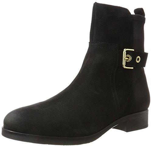 Tommy Hilfiger Damen T1285essa Hg 2c Chelsea Boots Schwarz (nero)