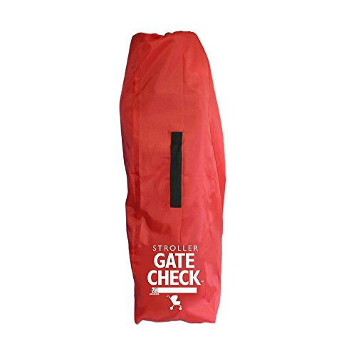 Large Product Image of JL Childress Gate Check Bag for Umbrella Strollers, Red