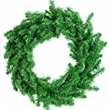 Sterling/Palm Tree 442200 Canadian Pine Wreath