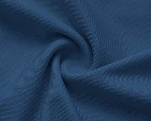 Nues Haut Outdoor Casual Blau Sling paules Femme Top Courtes Blusen Dos Chemise lgant V Cou Volants Nu Chic Et Crossover Manches Top Mode Costume 7q7pfr