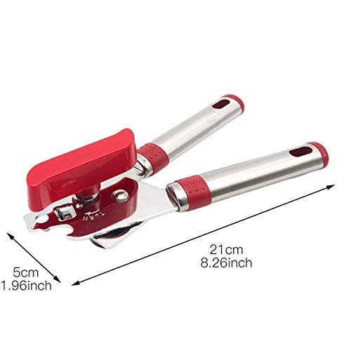 Can Openers,Stainless Steel Can Opener New Multifunction Saf
