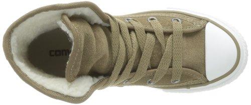 Converse Chuck Taylor Super Winter - Zapatillas de Deporte de ante Infantil gris - Taupe