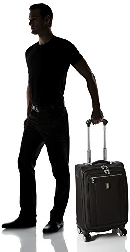 """Travelpro Platinum Magna 2  20"""" Expandable Business Plus Spinner, Black by Travelpro (Image #5)"""