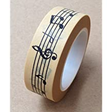 Love My Tapes Washi Tape 15mmX10m-Music Notes - Case Pack of 3