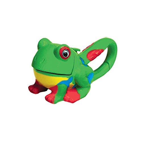 Sun Company Lifelight Animal Carabiner Flashlight - Green Frog | Cute Animal Keychain Lights ()