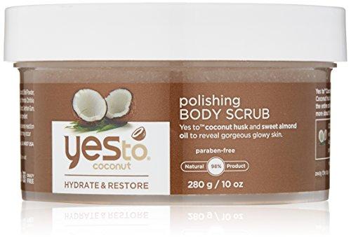 Yes To Coconut Polishing Body Scrub, 10 -