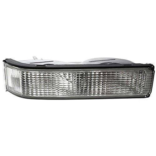 Single Sealed Beam - Turn Signal Light compatible with C/K FULL SIZE PICKUP 88-02 Passenger Side RH Lens and Housing w/Single Sealed Beam Headlamps
