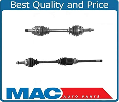 - (2) NEW CV Drive Axle Shafts For 03-06 All Wheel Drive AWD Vibe GT Wagon 1.8L