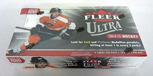 2014/15 Upper Deck Fleer Ultra Hockey Box (Fleer Ultra Hockey Cards Hobby)