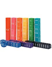 Learning Resources (UK Direct Account) LSP2509-UKM Fraction Tower Cubes Equivalency Set
