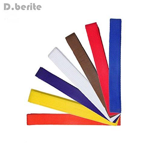 Taekwondo Belt Karate Double Wrap Belt Professional Martial Arts All Colors New