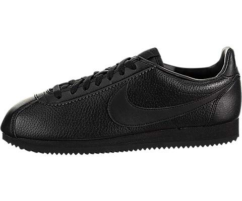 - Nike 749571-002: Mens Classic Cortez Leather Black/Black-Anthracite Sneaker (10.5 D(M) US Men)
