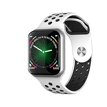 Yiwa Smart Bracelet Montre Multifonctionnel /étanche Smartwatch Sport Podometre for Homme Femme Noir
