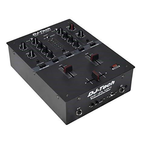 Mkii Mixer - DJ TECH Djtech Top Of The Line Scratch Mixer