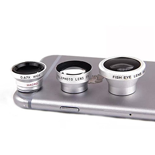 Detachable Magnetic Fish Eye Telephoto Smartphones