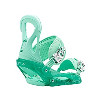Image of Burton Stiletto Womens Snowboard Bindings Spearmint Size Large 8+