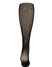 Capezio Professional Seamless Fishnet Tights 3000 (XL, Black.)