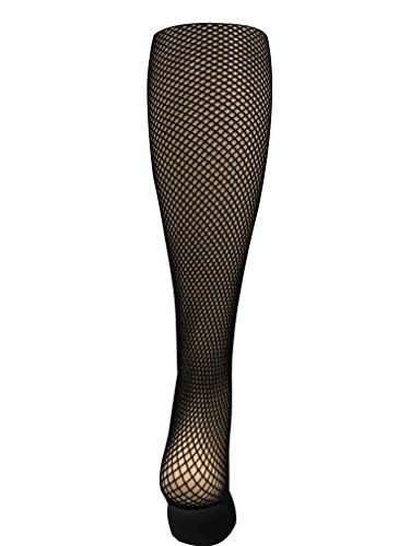 Capezio Professional Seamless Fishnet Tights 3000 (XL, Black.)