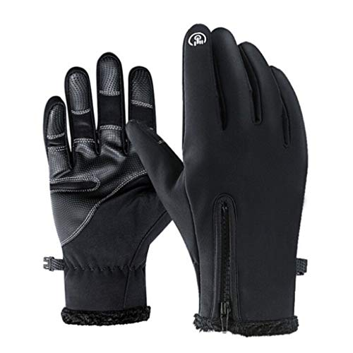 Woaill-Home Outdoor Warm Gloves,Unisex Winter Thermal Outdoor Sports Waterproof Windproof Screen Induction Glove