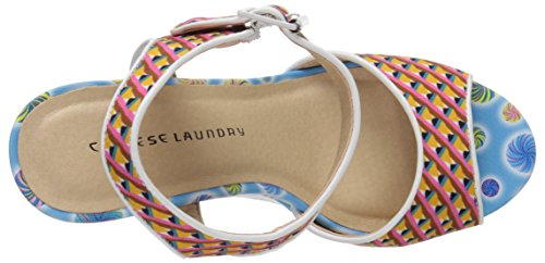 Sandal Multi Laundry Wedge Jollypop Chinese Women Blue UOqI0aw