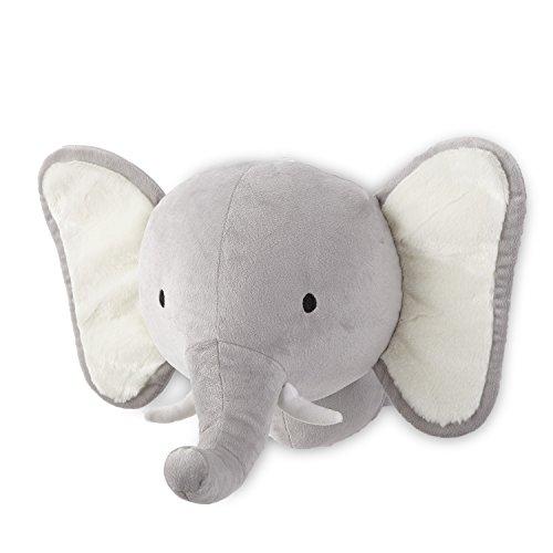 - Levtex Home Baby Grey Elephant Head Wall Decor