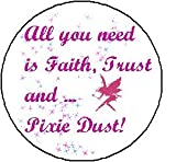ALL YOU NEED IS FAITH TRUST AND PIXIE DUST Magnet