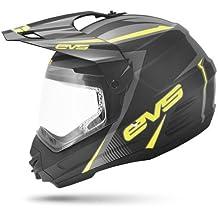 EVS Sports HT5DS-BKHV-XXL T5 DUAL VENTURE Sport Helmet