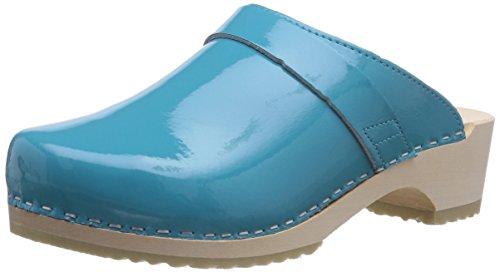 Gevavi WoMen 6006 Bighorn Clogs Blu (Blau (Blau(aqua Lak) 88))