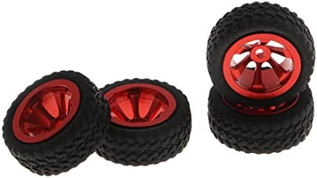 RCカーホイール タイヤ  Wltoys 1/28 RCカー用 RCカーアクセサリー 4個