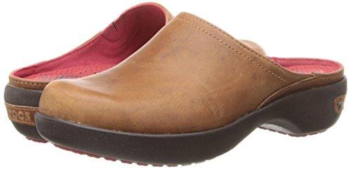 2 Crocs mahogany Cinnamon Leather Cobbler 0 Clog xzap0pf8qw