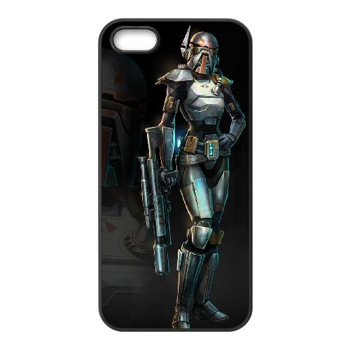 Star Wars The Old Republic 6 coque iPhone 4 4s cellulaire cas coque de téléphone cas téléphone cellulaire noir couvercle EEECBCAAN00629