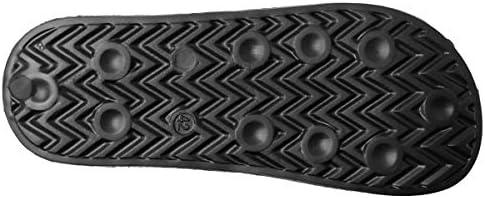 アビレックス AV4620 BANSHEE シャワーサンダル(24.0 cm BLACK/WHITE)スポーツサンダル ラフ ロゴ