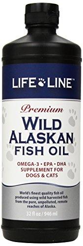 Life Line Wild Alaskan Fish Oil, 32-Ounce