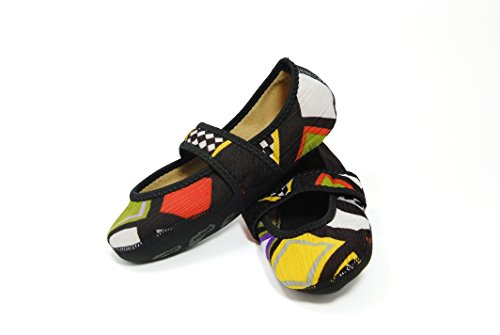 Nufoot Betsy Lou Fuzzies Women's Shoes, Best Foldable & Flexible Flats, Travel & Exercise Shoes, Dance Shoes, Yoga Socks, Indoor Shoes, Slippers, Patchwork, Large