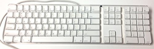 Apple USB Keyboard - White A1048 FOR G3 G4 G5