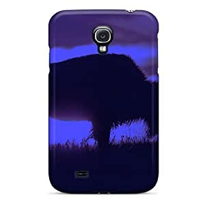 Tpu Case Cover For Galaxy S4 Strong Protect Case - Nightbuffalo Design