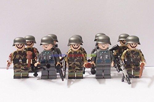[Minifigure 10 x Infantry Soldier Firebat Camouflage] (Female Adventurer Costume Ideas)
