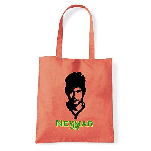 T L'épaule À Neymar bag Art Femme Pour Porter Sac jr shirt Corail 6qwZCxHO