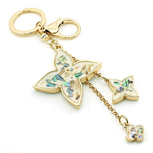 1 Pc Mini Pocket Lobster Clasp Keychain Keyring Keyfob Clover Pendant Keys Chains Rings Tags Strap Wrist Professional Popular Cute Wristlet Utility Keyrings Tool Teen Women Girls Gift, Type-02